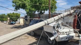 Conagua registra lluvia, granizo y vientos en al menos diez localidades de Sonora