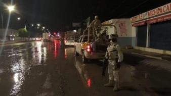 Sedena pone en marcha plan DN-III en Hermosillo por presencia de vientos y lluvia