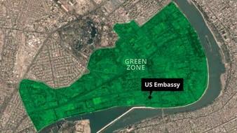 Cohetes impactan en la Zona Verde de Bagdad en visita de ministro de Irán