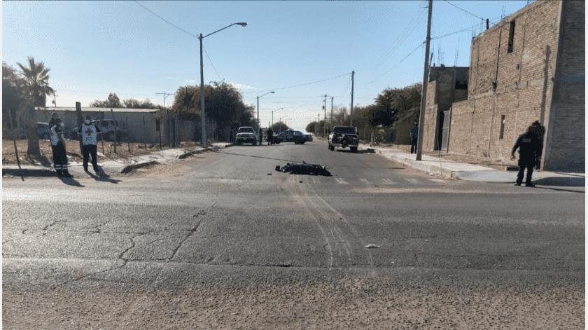 Motociclista muere en choque, detienen a mujer, en SLRC(Cortesía)
