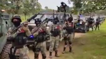 CJNG: Lo que se sabe de las armas, vehículos y el video del Grupo Élite
