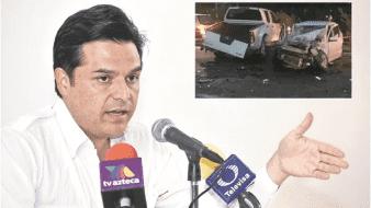 Zoé Robledo fue atendido por personal médico del IMSS