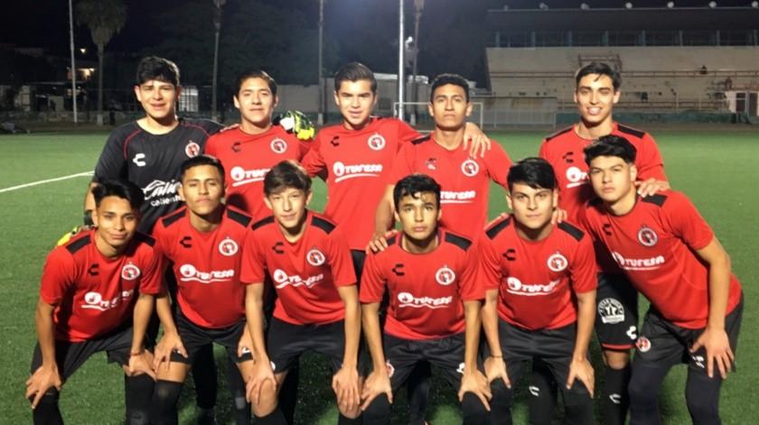 Futbolistas sonorenses se integran a las Fuerzas Básicas de Xolos de Tijuana