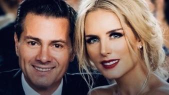 Enrique Peña Nieto y Tania Ruiz celebran su amor.