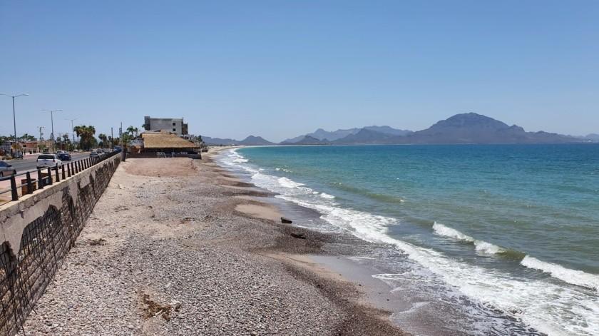 Hacen válido semáforo naranja en Guaymas y abren playas(Yesicka Ojeda)