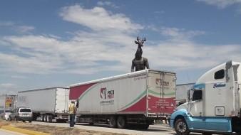 """""""Encierran"""" bloqueos el Valle del Yaqui"""