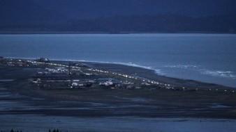 Las alarmas sonaron en 10 ciudades de Alaska en el transcurso de dos horas.