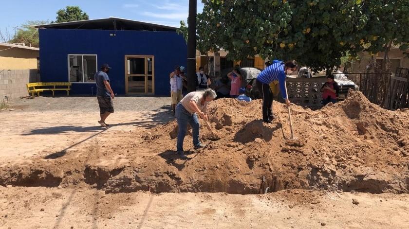 Célida López Cárdenas indicó que la empresa que ganó la licitación para la obra podrá actuar en contra de los ciudadanos que dañen los avances de este proyecto.(Archivo GH)