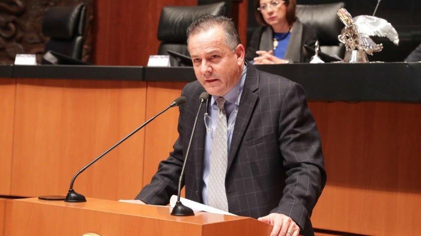 El Senador por Baja California, Gerardo Novelo Osuna.(Cortesía)