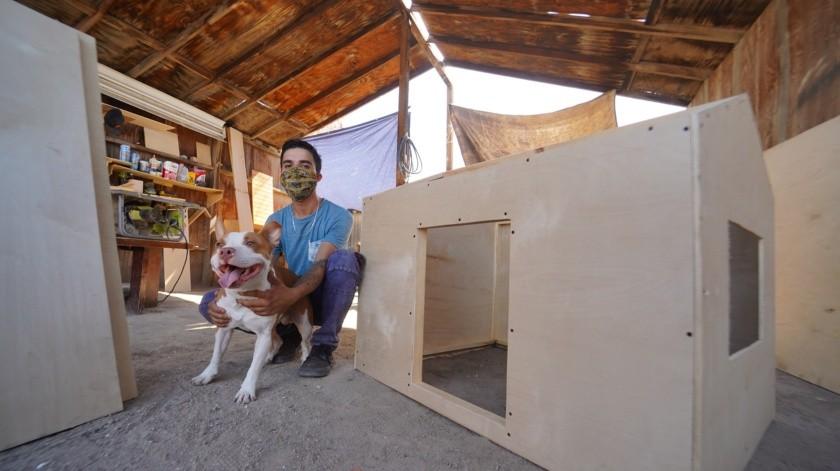 Construye casas de perro refrigeradas(Victor Medina Gorosave)