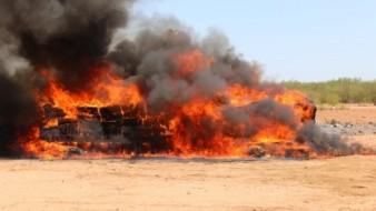 FGR incinera más de siete toneladas de narcóticos