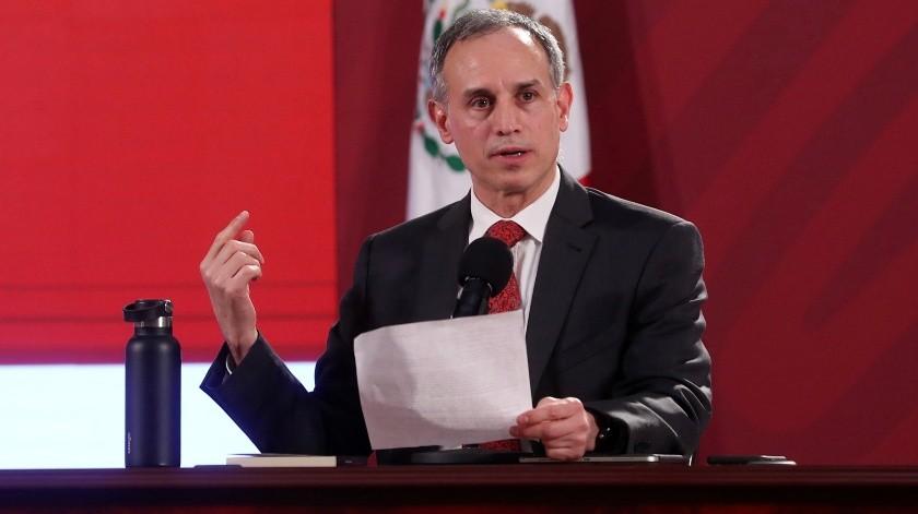 El subsecretario de Prevención y Promoción de la Salud, Hugo López-Gatell Ramírez, ha alertado que hacer un mayor número de pruebas no garantiza un mejor control(El Universal)
