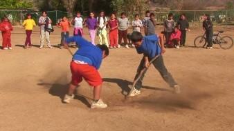 El Piak es un juego de pelota que practicaron los antiguos pobladores del actual territorio de Baja California.