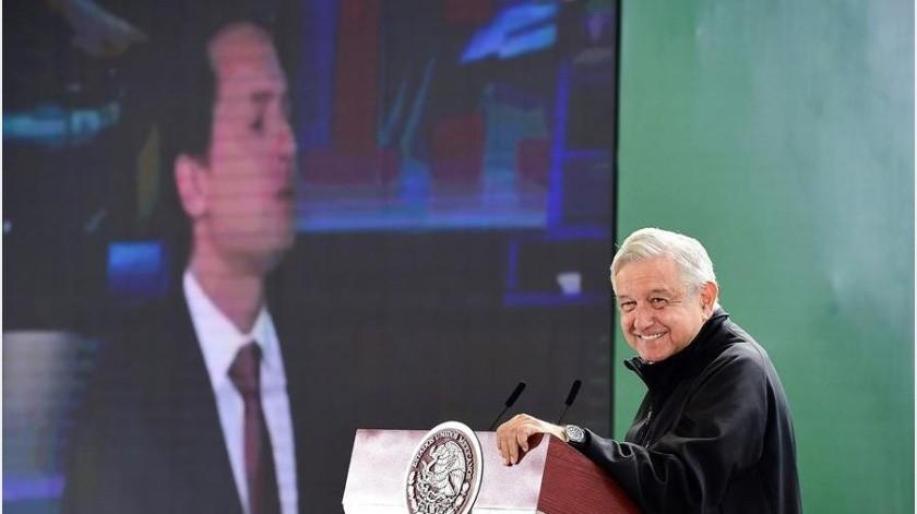 López Obrador afirma que el Gobierno mexicano ya no pide sobornos a empresas(EFE)