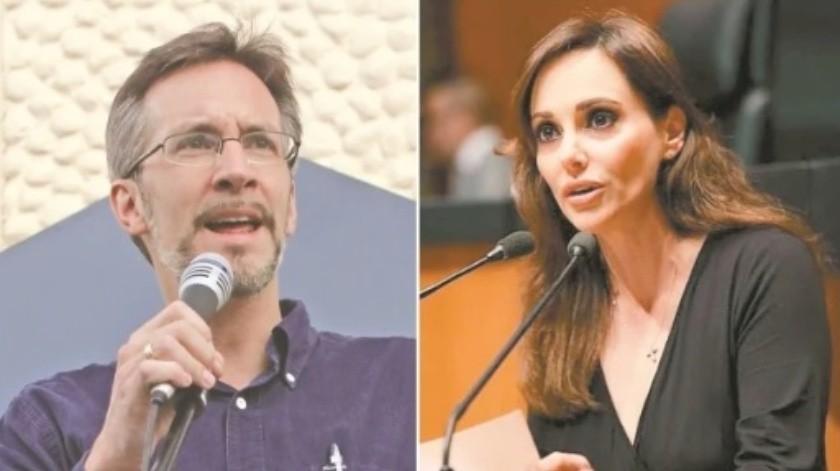 """""""Ya no sufras por mi desprecio"""": Lilly Téllez responde a John Ackerman(El Universal)"""