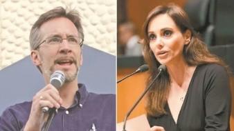 """""""Ya no sufras por mi desprecio"""": Lilly Téllez responde a John Ackerman"""