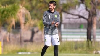 Fernando Navarro, del León, no jugó contra Chivas por posible contagio de Covid-19
