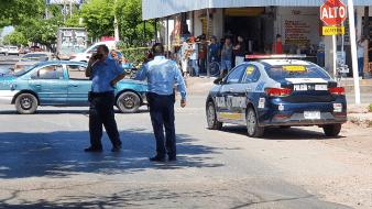 Lesionan a policía en Cajeme con arma de fuego