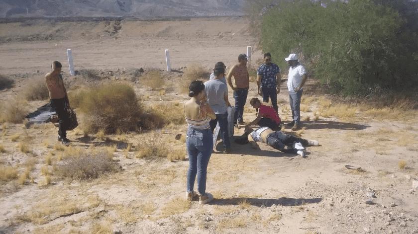 Identifican a muerto en volcadura como militar(Cortesía)