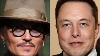 Elon Musk desafía a Johnny Depp por acusaciones sobre Amber Heard
