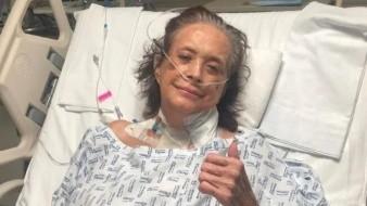 Cecilia Romo es intubada por riesgo de hemorragia pulmonar