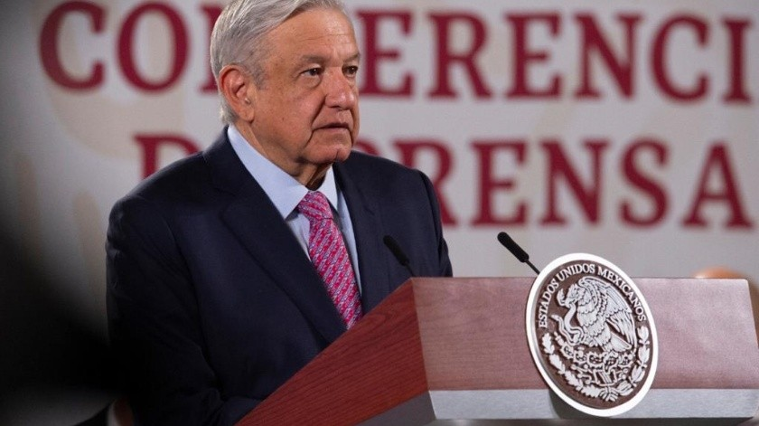 Andrés Manuel López Obrador dijo no tener información al respecto.(Gobierno de México)