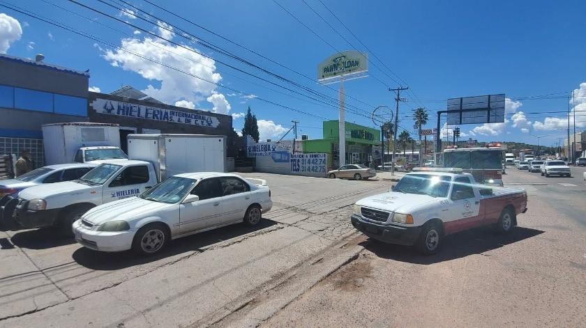 Movilización de bomberos por presunta fuga de químicos en colonia Villa Sonora(Especial)