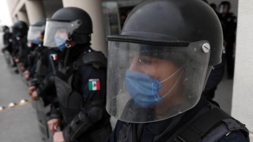 Mueren padre e hijo policías por coronavirus en Atizapán(Especial)