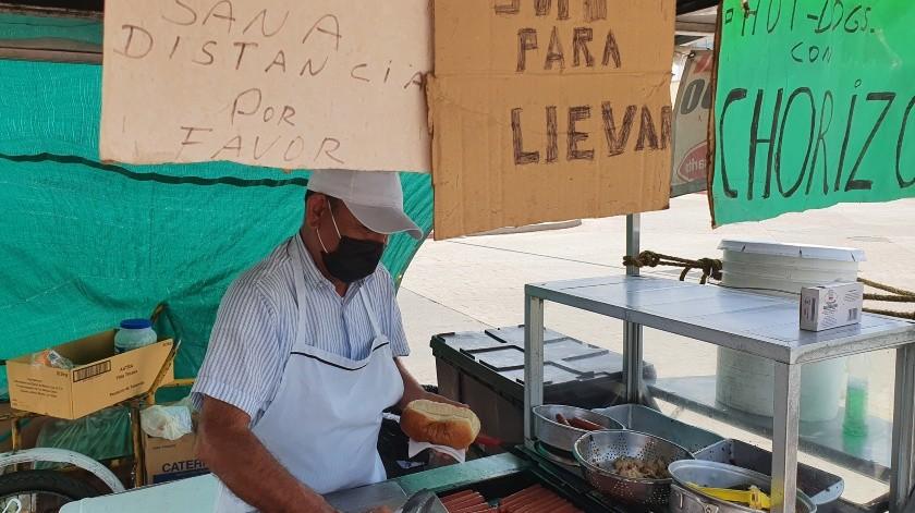 Gobierno de CDMX retirará puestos ambulantes de comida que incumplan medidas ante Covid-19(Archivo GH)