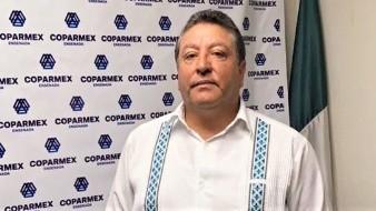 Martin Muñoz Barba, presidente de Coparmex.