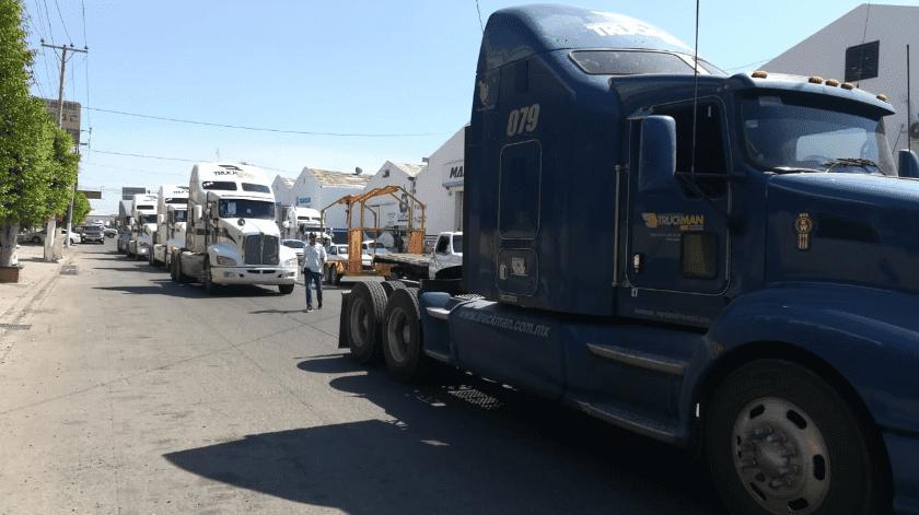 Podrán transportistas entrar a Cajeme, pero por horarios(Especial)
