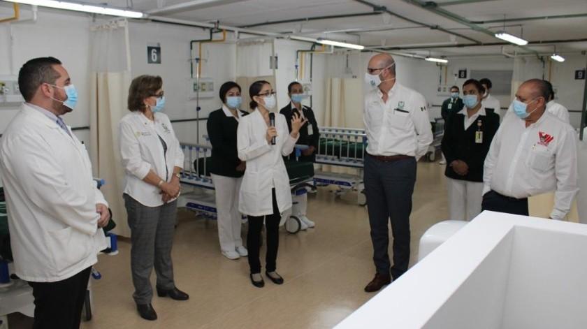 Inicia operaciones Módulo Hospitalario Covid-19del IMSS en Mexicali