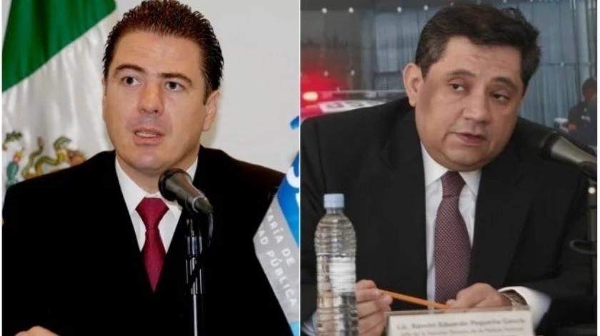 Luis Cárdenas y Ramón Pequeñp García, exmados  de la Polícia Federal acusados por UIF(Archivo El Universal)