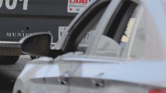 Choca patrulla con auto particular; hay un lesionado