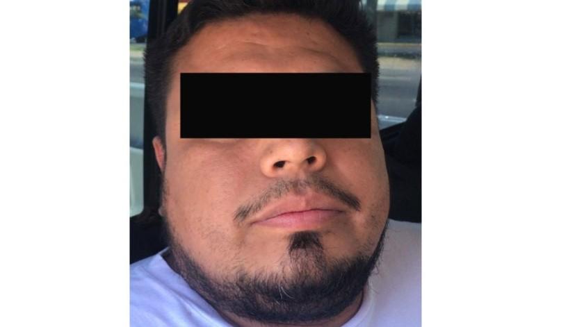 """El detenido está identificado como  Froilán """"N"""".(Cortesía)"""