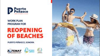 Abren mañana playas de Puerto Peñasco