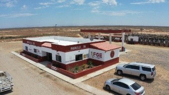 Inauguran instalaciones de la FGE en el paralelo 28