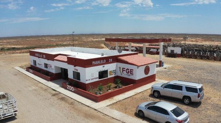 Inauguran instalaciones de la FGE en ejido Villa de Jesús María.(Cortesía)