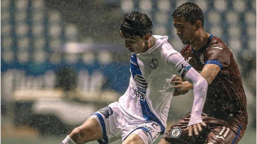 ¡Final cardíaco! Pineda salva de la derrota a Cruz Azul contra Puebla(Instagram @clubpuebla)