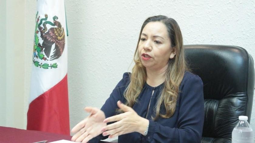 Secretaria de Honestidad, Vicenta Espinosa Martínez.