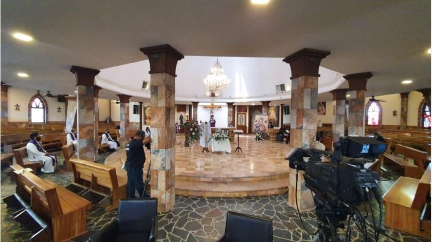 En la Iglesia de Nuestra Señora de Fátima fue uno de los lugares donde llevó a cabo su labor sacerdotal durante muchos años.(Teodoro Borbón)