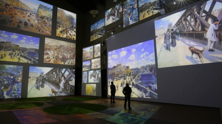 Una exposición multisensorial ofrece Claude Monet.