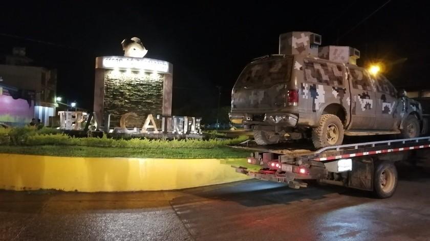 Municipio de Tecaltepec, reportan presencia de CJNG(FC Policía Comunitaria Tecaltepec)