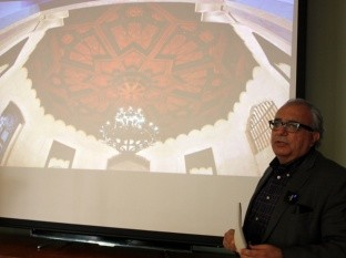 Pedro Ochoa Palacio, secretario de Cultura de Baja California anunció la restauración.