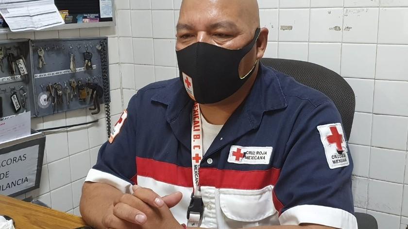 Crisis en Cruz Roja por saturación de hospitales en Mexicali