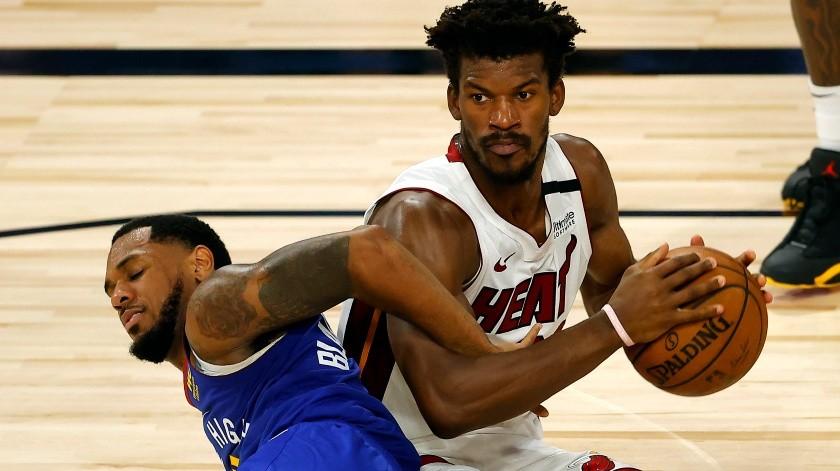 Butler y Adebayo comandan triunfo del Heat sobre Nuggets(Getty Images)