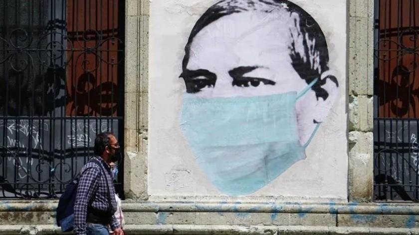 México registra nuevo récord diario de casos Covid-19 con 9 mil 556(EFE)