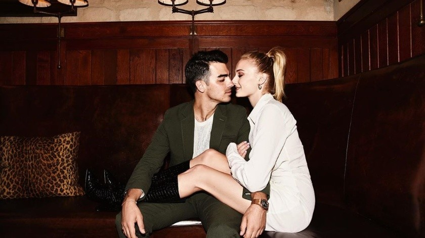 "Joe Jonas y Sophie Turner nombra a su hija 'Willa' como tributo a ""Game of thrones""(Instagram @sophiet)"