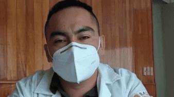 """""""Vivo una pesadilla, él es inocente"""": Esposademédico Grajales encarcelado tras muerte de paciente con Covid-19 demanda su liberación"""