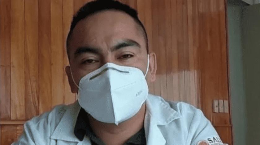 """""""Vivo una pesadilla, él es inocente"""": Esposademédico Grajales encarcelado tras muerte de paciente con Covid-19 demanda su liberación(Especial)"""